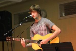 Austin Kopec Plays at Briarcliff Songs For A Cause 2012