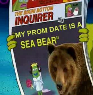 My Prom Date Is a Seabear - Spongebob