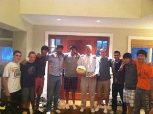 Briarcliff Boys Varsity Tennis 2013
