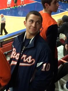 Sophomore Jake Hertz