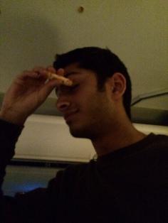 Senior Aditya Dave- a first time beezer