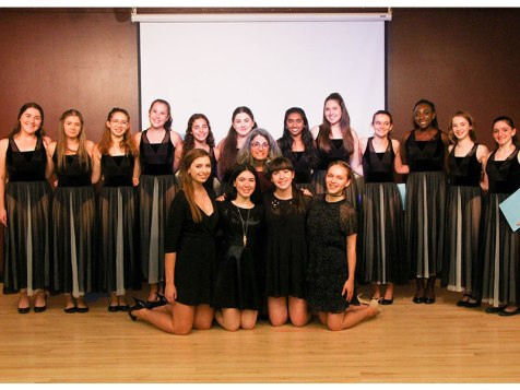 Dance Arts Honor Society Induction 2016