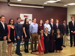 Tri-M Music Honor Society Induction